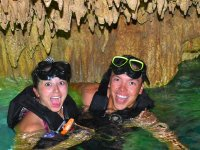 Snorkel in an impressive cenote