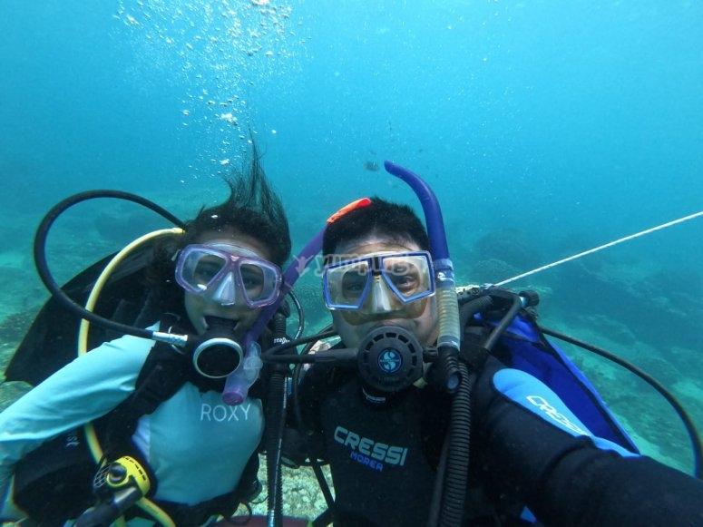 Buceo en mar abierto en Mazatlán