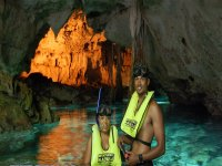 Swim in the cenotes