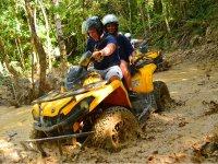Maximum adrenaline aboard your ATV