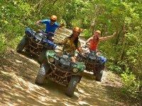 ATVs on Mayan trail