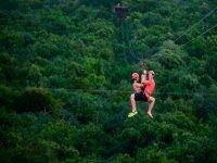 Zipline in Cancun