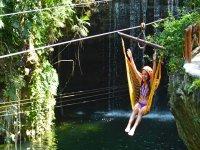 Zipline in Xplor Park