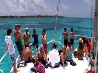 Boat trip Isla Mujeres