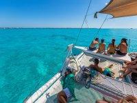 Sailing in the Riviera Maya