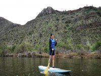 Paddle Surf in Wetland