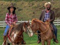 Horse riding through Rancho in Xico 30 minutes