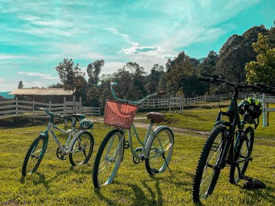 Cycling route through ranch in Xico 1 hour