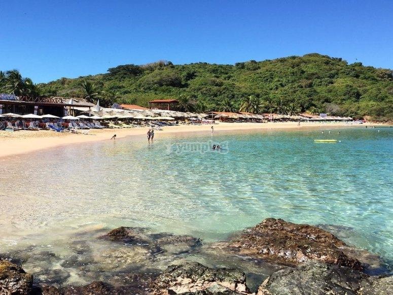 Playa en Isla Ixtapa