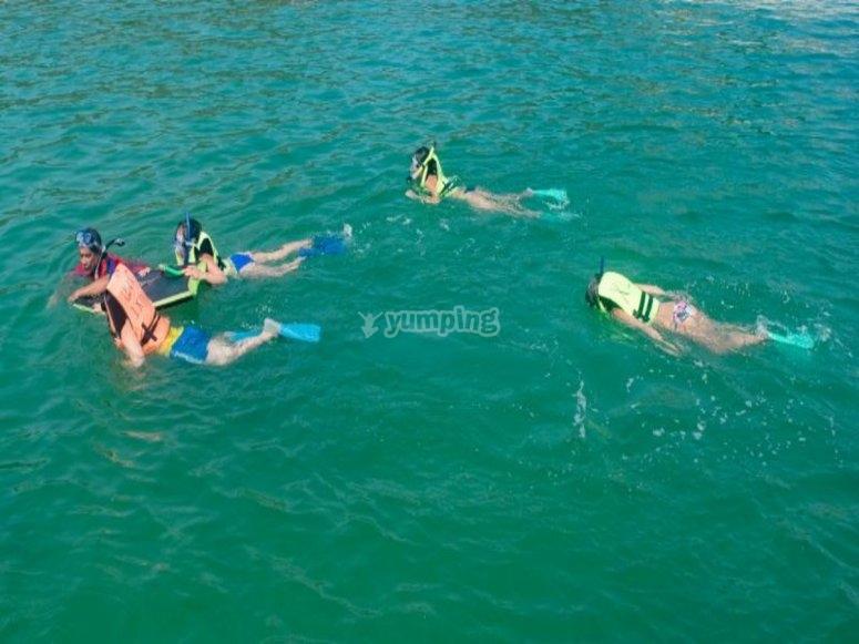 Snorkel en Isla Ixtapa