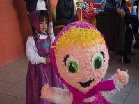 Celebration with pinata