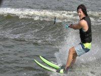Water skiing in Playa Linda for 1 hour