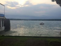 Enjoy the sunset with your jet ski
