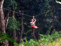 Experiencia al limite de volar en el Bosque de Valle de Bravo