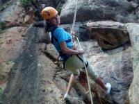 Escala hasta la cima de Valle de Bravo