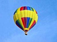 Fly in balloon in San Migel de Allende