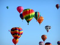 Fly in a balloon and enjoy the adventure
