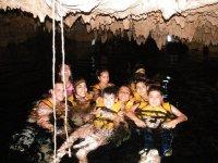 Nadando en cenote