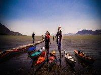 Kayaking on the largest lake!