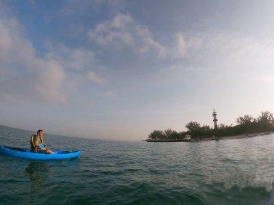 Reef on Kayak