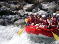 Rafting in the Copalito river