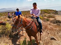 Horseback riding in Rancho los Bandidos with guide 2 hours