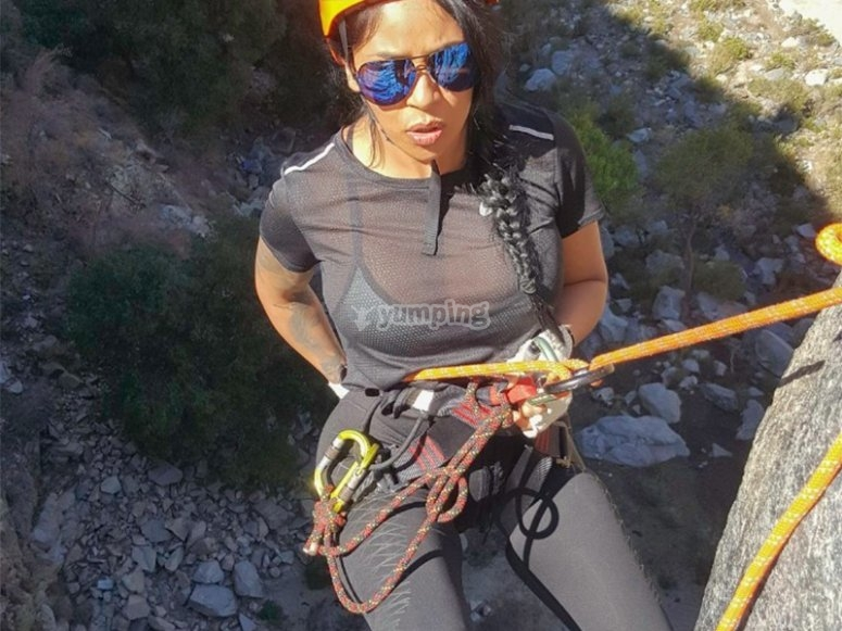 You will have all the Rappel equipment
