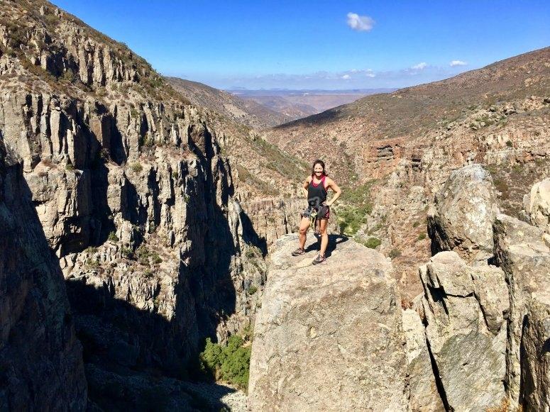 Do not miss the views of the Salto de Santa Rosa