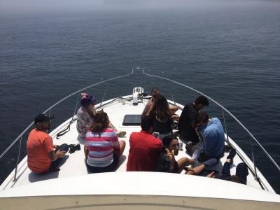 Yacht trip along the Ensenada coast 4 hours