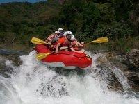 Rafting speed