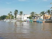 Navigate the canals of Boca del Río by boat