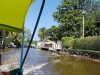 Discover the little corners of Boca de Río by boat