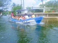 Boat trip in Boca de Río