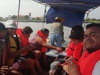 Family boat trip in Veracruz