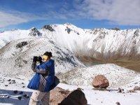Ascension enneigée de Toluca