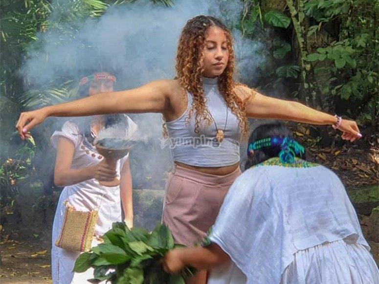 Vive en ritual ancestral para parejas