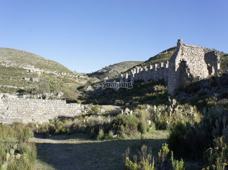 Ruinas en el pueblo fantasma