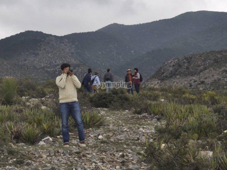 Fotografiando los paisajes