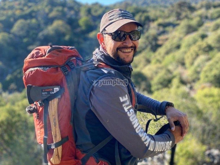 Insstructor de trekking