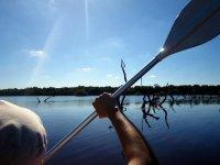paddling in sisal