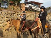 Ruta a caballo por pueblo de San Joaquín 2 horas