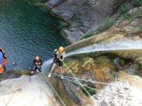 Descent waterfalls