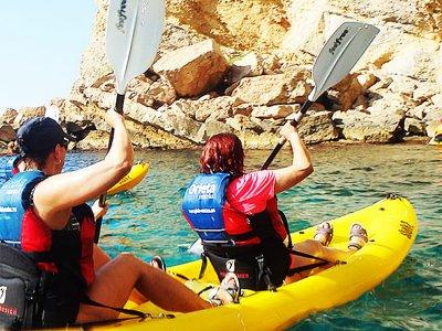 Kayak en club de playa de San Carlos todo el día