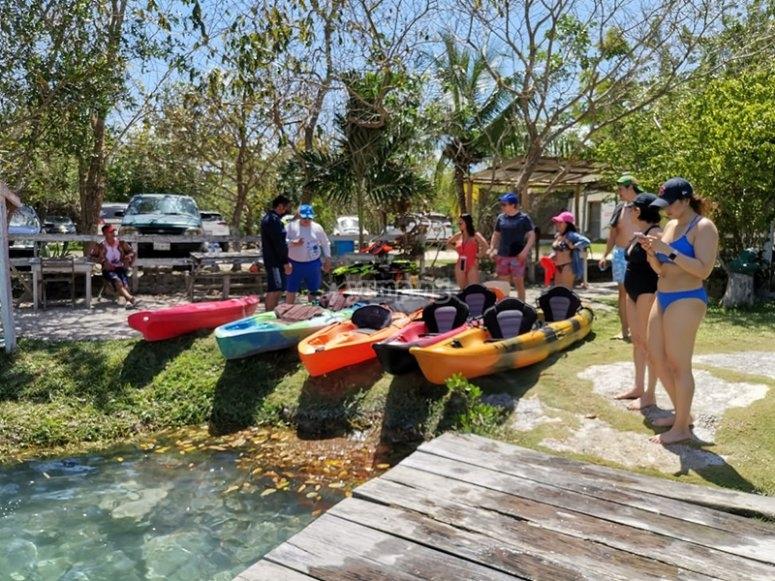 Contarás con el equipo de Kayak