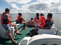 The best landscapes are enjoyed in Chetumal
