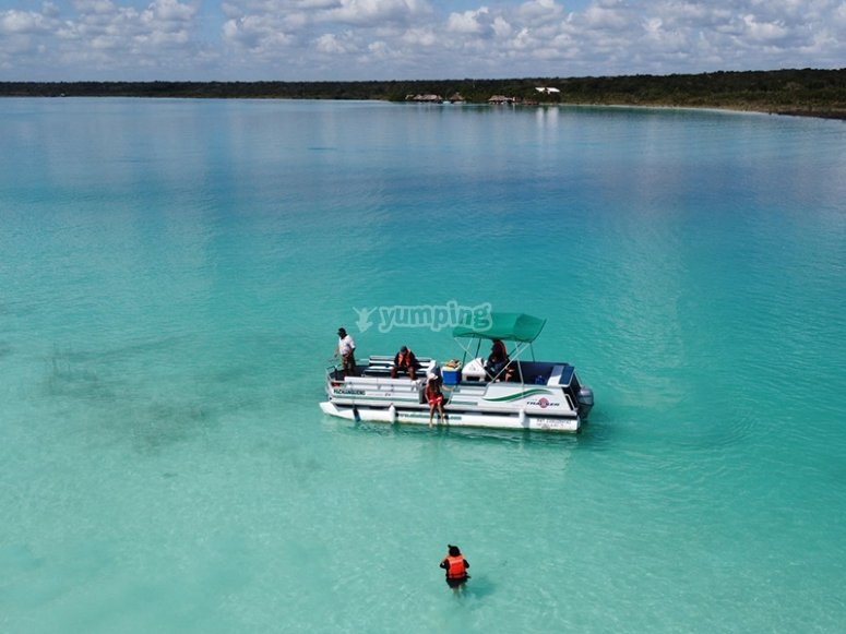 Immerse yourself in the rich waters of Chetumal