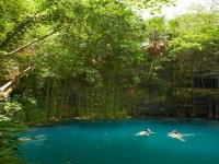 Dip in the cenote