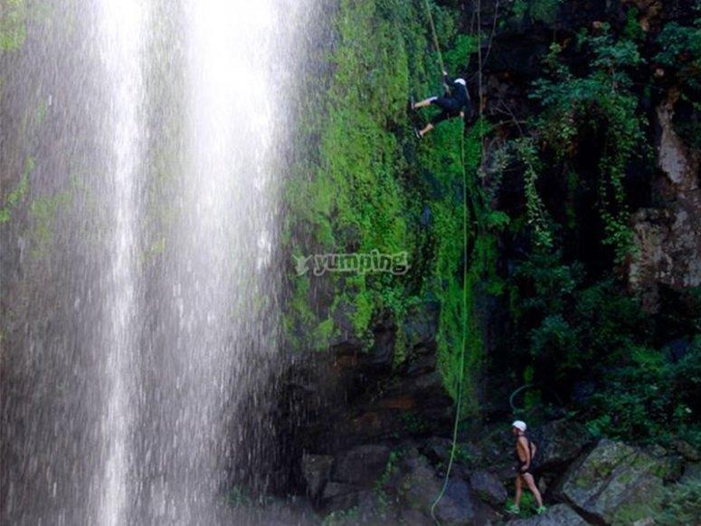 Visit the San Antonio waterfall