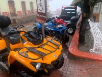 Come with your partner and enjoy an ATV route through Mineral del chico