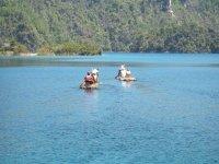 Paseo en la laguna Miramar